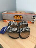 Birkenstock Arizona Star Wars Kylo Ren Birko Flor Narrow Fit Sandals Size 8.5NEW