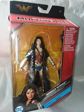 "DC Comics Wonder Woman Action Figure Toy Multiverse 6"". Mattel, 2016. New Sealed"