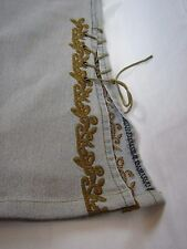 H.I.T Jeans USA size 9/10--wonderful embroidered design on leg