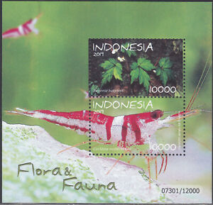 Indonesia - Indonesie New Issue 2019-11-05 (SS) Flora & Fauna