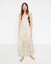 Zara Viscose Long Sleeve Dresses for Women