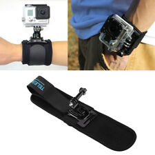 Adjustable Black Wrist Arm Strap Band Cycling Hand Belt for GoPro Hero 6 5 4 3+