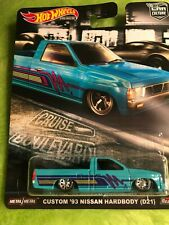 Hot Wheels Premium Custom Nissan Hardbody Car Culture Cruise Boulevard Pick Up