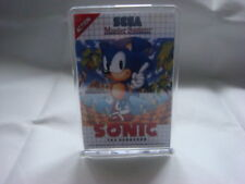 SEGA MASTER SYSTEM  GAME COVER FRIDGE MAGNET WITH STAND SONIC THE HEDGEHOG