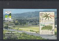 New Zealand NZ 2013 MNH Upper Hutt National Stamp Show 2v M/S Ferns Plants