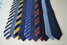 Job Lot Bundle of T.M.Lewin  x 10 silk neckties