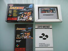 Starwing (PAL, Nintendo SNES) excellent condition complete /w box and manual