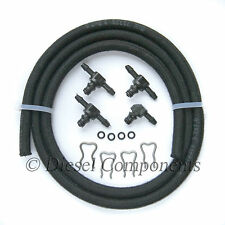 Alfa Romeo GT Leak-Off Connector Kit inc 1 x 90, 3 x 180 & 1Mtr Leak-Off Hose