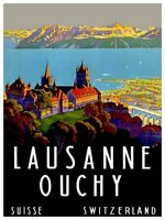 EUROPE VINTAGE TRAVEL POSTER Rare Hot New 2