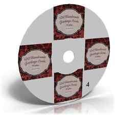 Cardmaking GALLERY CD Vol 4 of 5 ~ 650 Handmade Cards