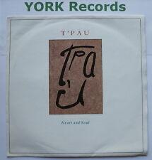 """T'PAU - Heart & Soul - Excellent Condition 7"""" Single Siren SRN 41"""