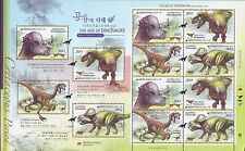 Korea - The Age of Dinosaurs sheet 2012