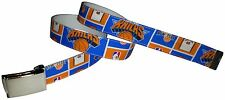 New York Knicks Belt Buckle Basketball NBA Fan Game Gear Pro Shop B-Ball NY Gift