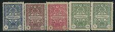 Turquia    00059/63 * Bonita serie (5 sellos)