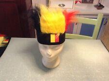 coiffe/ perruque de supporter belge neuf