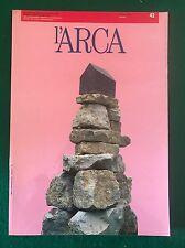 Rivista architettura L'ARCA n. 42 ottobre 1990 tecnologia e costruzione