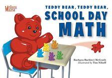 McGrath Math Teddy Bear Teddy Bear School Day Math (pb) Barbara McGrath NEW