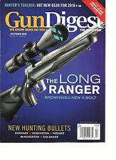 GUN DIGEST MAGAZINE, THE LONG RANGER BROWING'S NEW X-BOLT  OCTOBER, 2016 VOL. 33