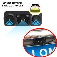 3in1 170°car Visual Reversing Rear View Camera With Radar Parking Sensor Ture 100% Guarantee Consumer Electronics