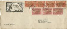 More details for stamps, philippines to usa, first flight manila to san francisco, cover, 1935