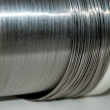 Pure Titanium wire 1 mm by 5 feet uncut 99.99 Ti wire grade 1, 18 gauge AWG