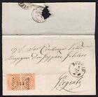 STORIA POSTALE Regno 1870 Piego da Burgio per Girgenti (FSQ)