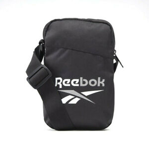 Reebok Unisex Shoulder Bag Accessories Training Essentials Black City bag GP0177
