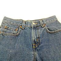 Levi Strauss & Co  569 Womens Loose Straight Five Pocket Capri Jeans Size 10R
