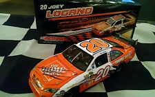 2009 Joey Lagano Autographed #20 Rookie Season Home Depot Action 1/24