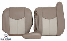 2003-2006 GMC Yukon/Yukon XL Denali-Driver Side Complete Leather Seat Covers TAN
