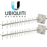 2 Pack Ubiquiti Networks AMY-9M16 airMax 900 MHz YAGI Antenna for M900 2x2 MIMO