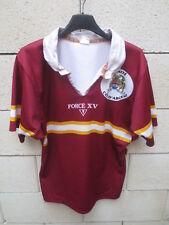 Maillot rugby Comité Côte d'Argent porté n°14 Force XV vintage shirt M