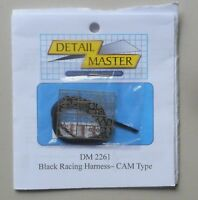 RACING HARNESS CAM TYPE 1:24 1:25 DETAIL MASTER CAR MODEL ACCESSORY 2261