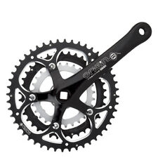 Origin-8 Pro Fit Trekking Crankset Black 175mm x 48/38/28T Triple JIS Square BB