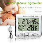 Indoor Room Thermometer Mini Temperature Humidity Meter LCD Hygrometer Digital