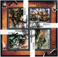 Battles of WWII Stamp Sheet (1941 Kiev/1944 Normandy Landings/1945 Berlin)