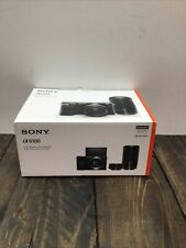 Sony Alpha A6100  Camera with 16-50mm and 55-210mm Zoom Lenses- Open Box