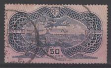 "FRANCE AERIEN 15 "" AVION CAUDRON SIMOUN 50F BURELAGE ROSE 1936 "" OBLITERE  N169"