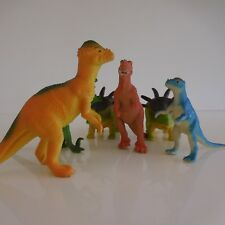 6 statuettes figurines dinosaures