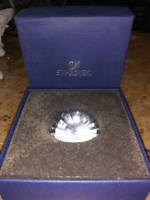 Beautiful Clear Faceted Swarovski Crystal Diamond 9100Nr32 Paperweight W Box!