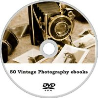 50 Vintage Books collection on PHOTOGRAPHY and CAMERAS ebooks on DVD ROM