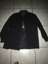 Levis Mens Wool Jacket Sz 2XL Navy Blue BNWT