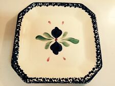 "GAIL PITTMAN ""Whiteware"" Square Serving Platter Plate - 10 1/4"""