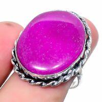 Purpurite Handmade Ethnic Style Jewelry Ring Size 8