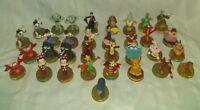 Disney 100 Years Of Magic Figures McDonald's 33 Figures 6 Duplicates