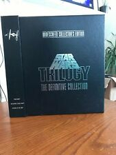 Star Wars The Definitive Collection Widescreen Collector's Edition LASERDISC