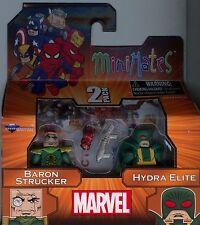 Marvel Minimates Series 54 Baron Strucker and Hydra Elite MINT