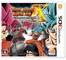 Dragon Ball Heroes Ultimate Mission X  Nintendo 3DS Game Japan NEW epacket