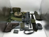 Vintage East German Military New & Old Style - NVA 15 Piece Equipment Set
