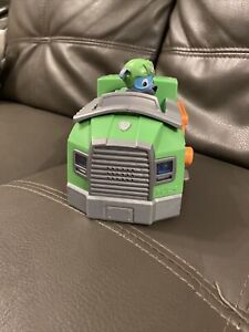 Rocky & Recycling Truck Lights Sounds PAW Patrol Vehicle Mighty Pups Figure